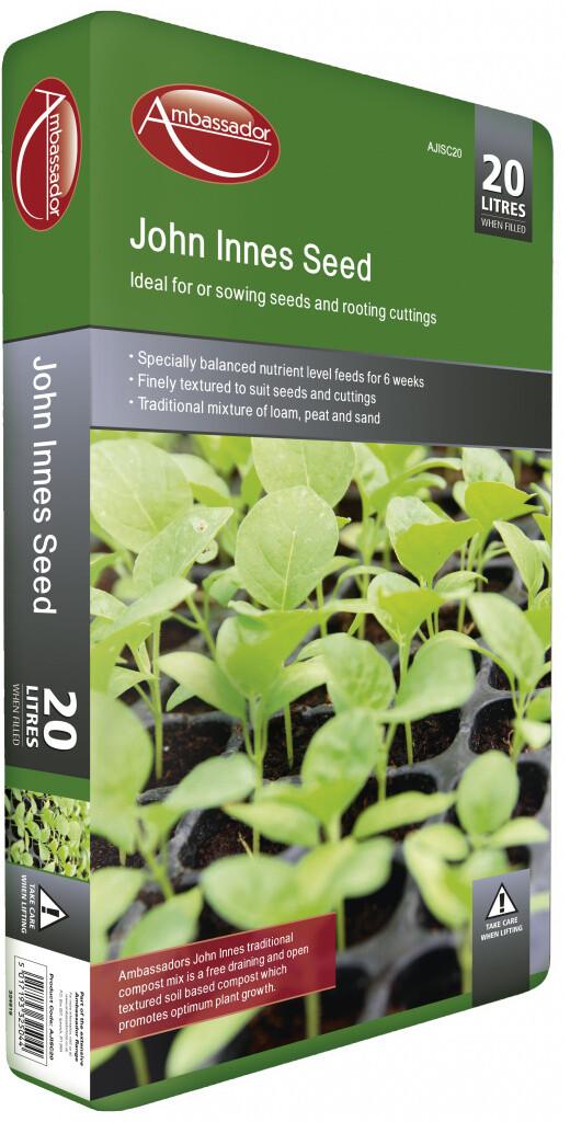 20 Litre - Ambassador - John Innes Seed Compost