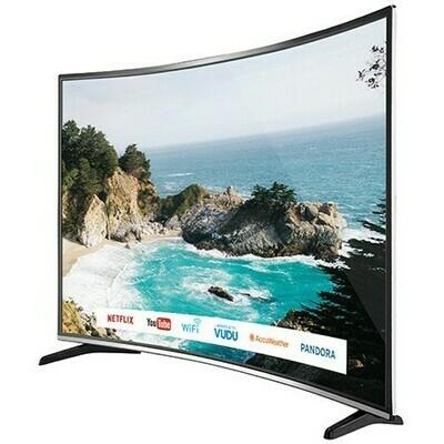 Téléviseur 55po incurvé smart  4K UHD HDR de Bolva