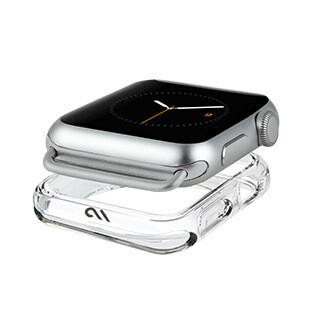 Pare-chocs Naked Tough pour montre Apple de 42-44 mm, transparent de Case-mate
