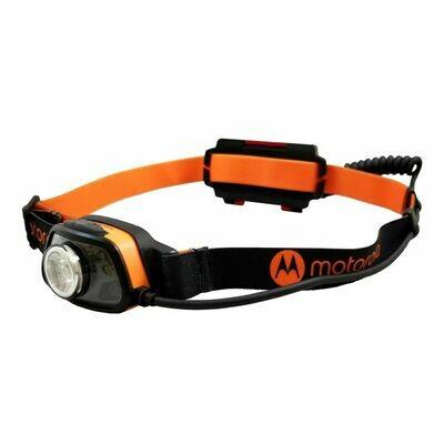 Lampe frontale DEL 250 Lumen avec lumière arrière et détection multiple MHC250 de Motorola