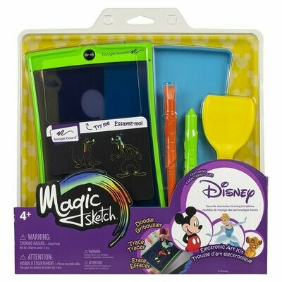 Magic Sketch Disney Édition à caractères multiples J3MSD0001 de Boogie Board®