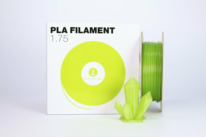 Filament pla Transparent matcha vert 1.75mm de Tinkerine