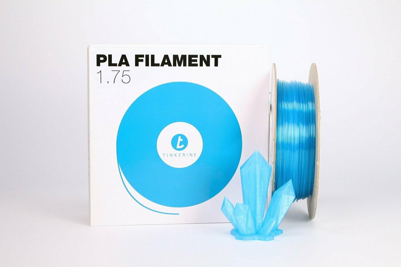 Filament pla Transparent soda bleu 1.75mm de Tinkerine