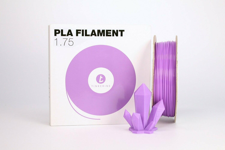 Filament pla pastel lavande mauve 1.75mm de Tinkerine