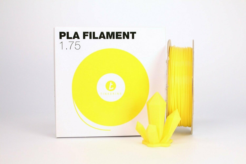 Filament pla pastel soleil jaune 1.75mm de Tinkerine