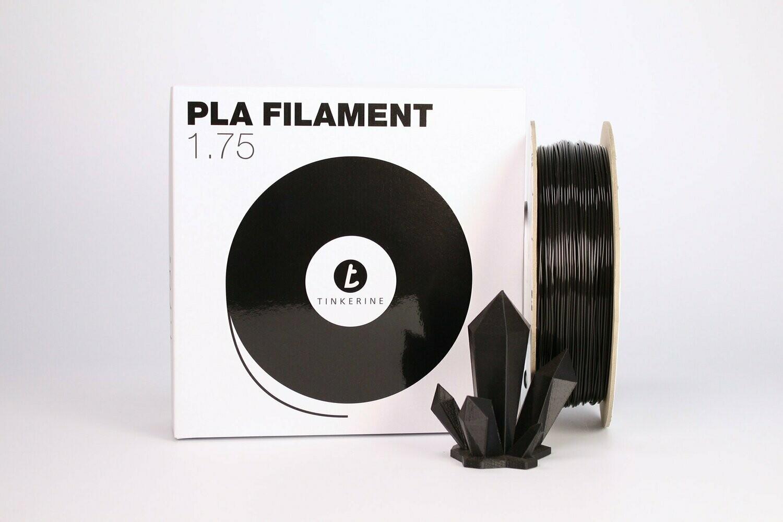 Filament pla noir 1.75mm de Tinkerine