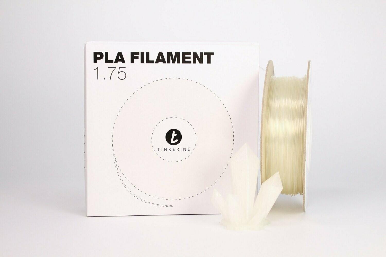 Filament pla transparent 1.75mm de Tinkerine