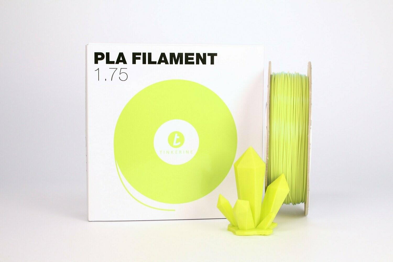 Filament pla pastel spring vert 1.75mm de Tinkerine