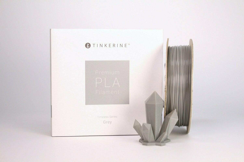 Filament pla gris 1.75mm de Tinkerine