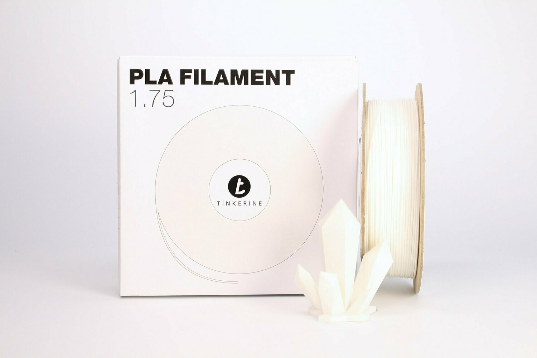 Filament pla blanc 1.75mm de Tinkerine
