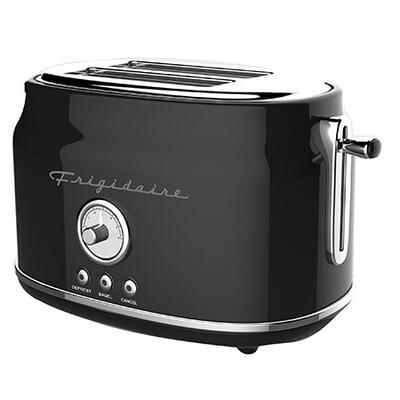 Grille-pain retro noir de Frigidaire