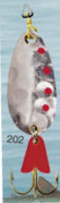 Cuillère à support en or 3/8 oz Leurre de pêche modèle 202 de Egb America