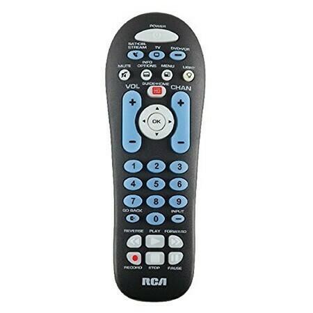 Télécommande universelle à trois appareils de RCA