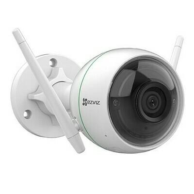 Caméra extérieure Wi-Fi C3WN 1080p avec assistant Google et compatibilité avec Amazon Alexa de EZVIZ