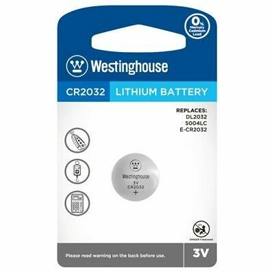 Piles bouton au lithium CR2032 3.0V de Westinghouse