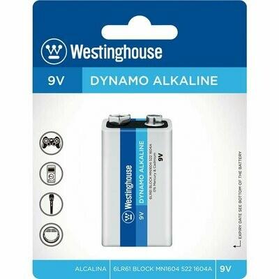 Batterie alcaline format 9V de Westinghouse