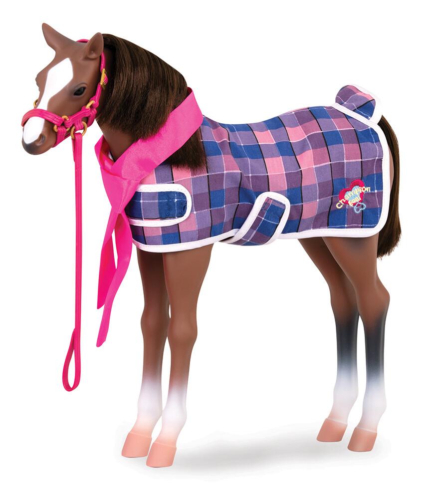 Poulain Quarter Horse 50 cm pour poupée OG de 46 cm de Cheval OG