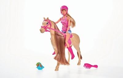 Poupée et cheval de Steffi Love