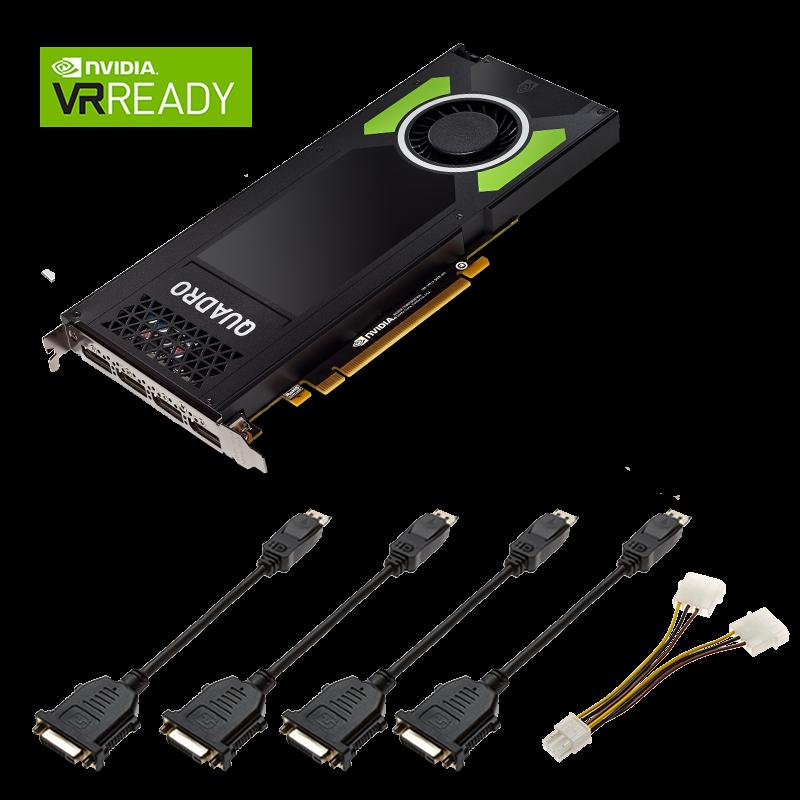 Carte Graphique NVIDIA® QUADRO® P4000 VCQP4000-PB de PNY
