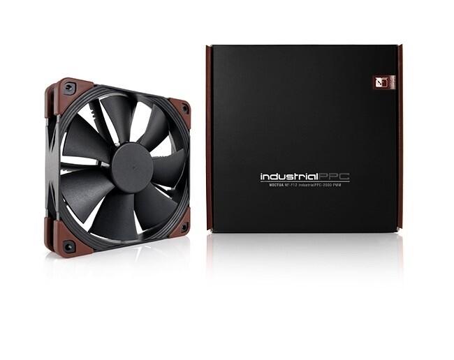 Fan NF-F12 iPPC 2000 120x120x25mm Fibre-glass SSO2 Heptaperf de Noctua