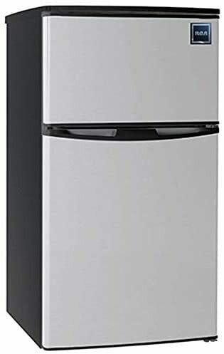 Réfrigérateur / congélateur de 3,2 pi3 à 2 portes - Acier inoxydable RFR834 de RCA
