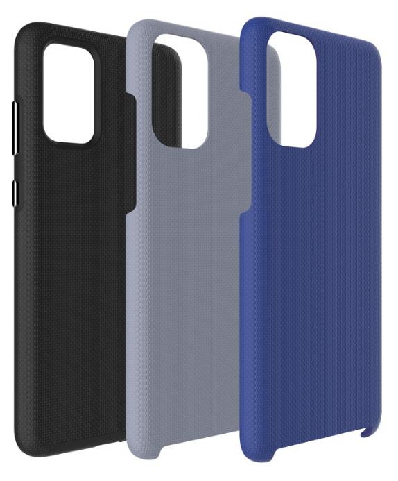 Étui Armour 2X Bold Kit Noir/Gris/Marin pour Samsung Galaxy S20 BEA2XBKGS11E de Blu Element