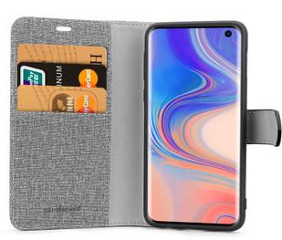 Étui 2 en 1 Folio Gris/Noir pour Samsung Galaxy S10+ B21S1MGB de Blu Element