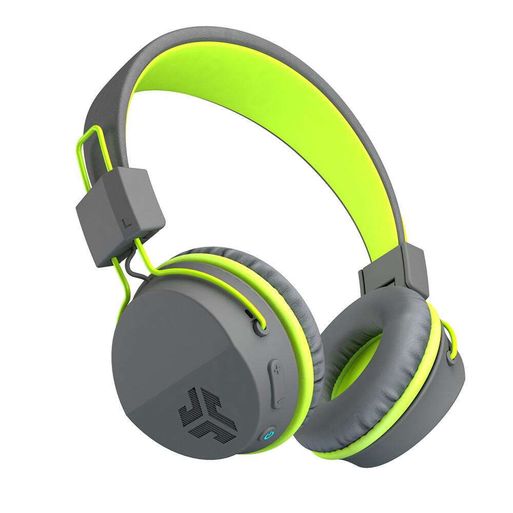 Casque Supra-Auriculaire sans Fil Bluetooth Studio  Neon Vert/Gris  de JLab