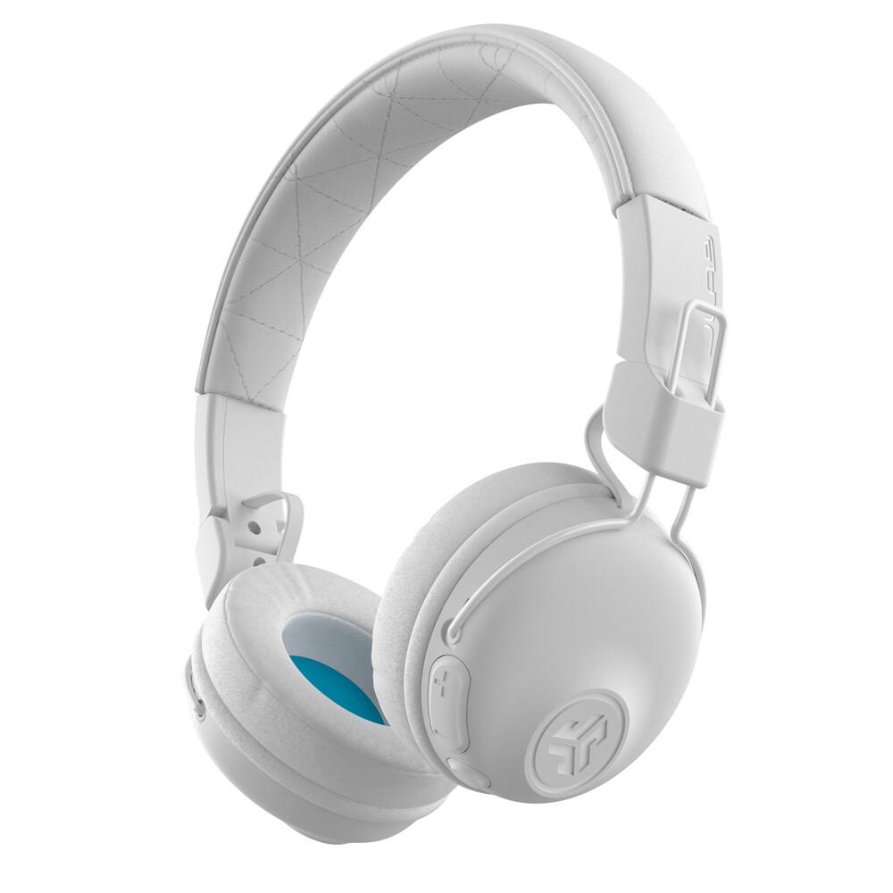 Casque Supra-Auriculaire sans Fil Bluetooth Studio Blanc de JLab