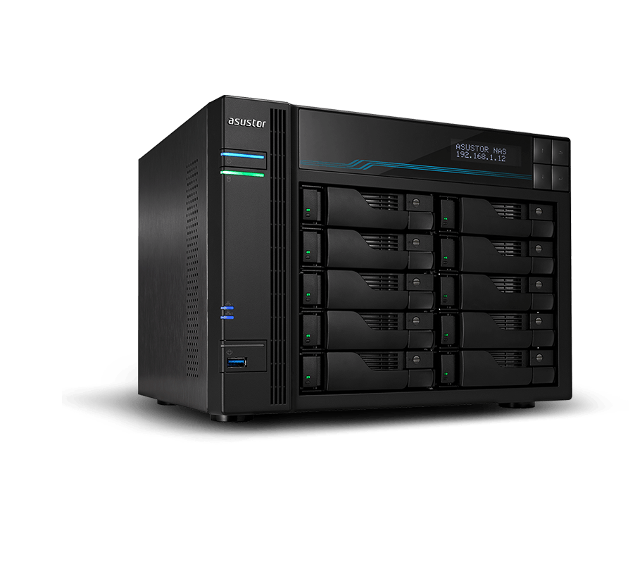 NAS 8 baies Intel ATOM C3538/8G AS6508T de Asustor