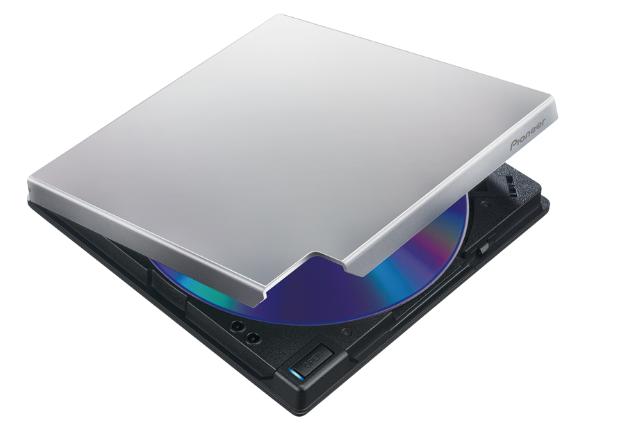 Graveur 6x BD / DVD / CD USB 3.0 Slim Portable. Prend en charge les formats BDXL ™ et M-Disc ™. Super léger. Alimenté par bus USB de Pioneer