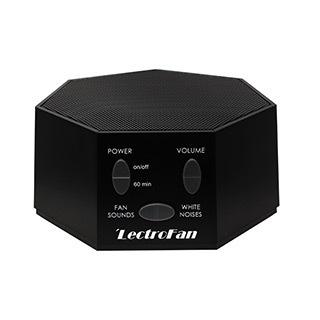 Générateur de bruit  et de son de ventilateur noir de LectroFan