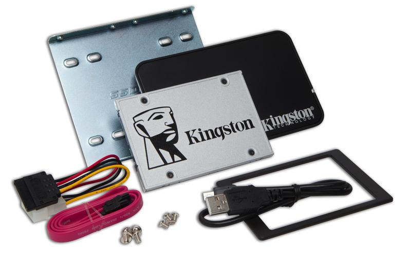 Disque solide de 480G avec  kit de mise à niveau de Kingston
