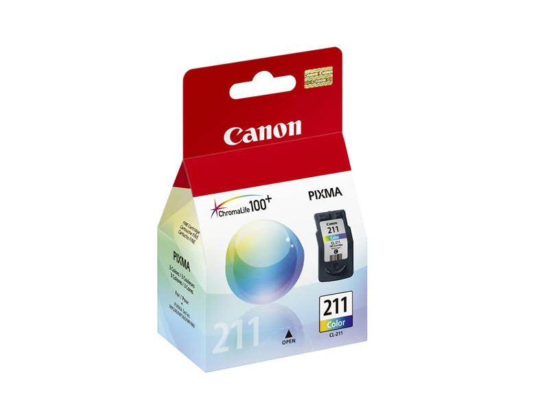 Cartouche d'encre CL-211 couleur de Canon®