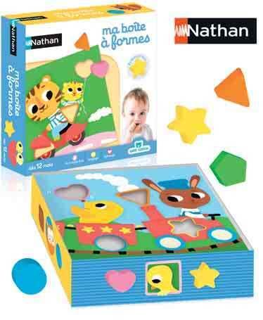 Ma boîte à formes de Nathan