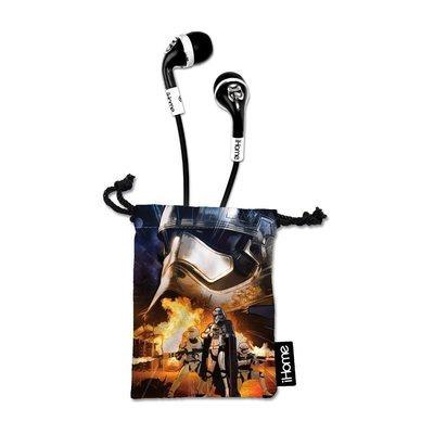 Écouteur oreillettes antibruit avec microphone intégré avec étui EKIDS Star Wars de Ihome