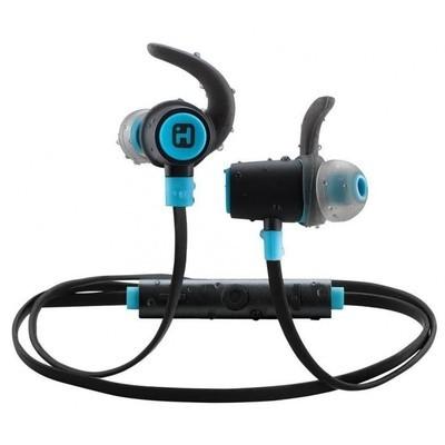 Écouteurs sans fil Bluetooth® résistant à l'eau avec micro, commande à distance et pinces de iHome
