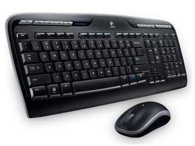 Ensemble clavier et souris MK320 de Logitech