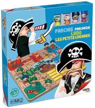 Jeu de société Ludo Pirate de cayro