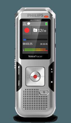 VoiceTracer Enregistreur audio DVT4010 DE Philips