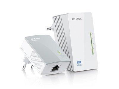 Kit de démarrage Extenseur CPL AV500 Wi-Fi N 300 TL-WPA4220KIT de Tp-link