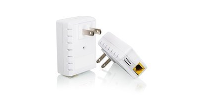 Le kit Powerline Nano Ethernet pont GPLB200K de Iogear