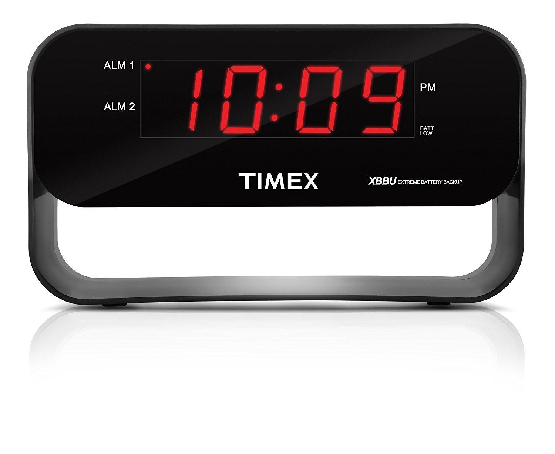 Réveille matin T128BC3 noir de Timex
