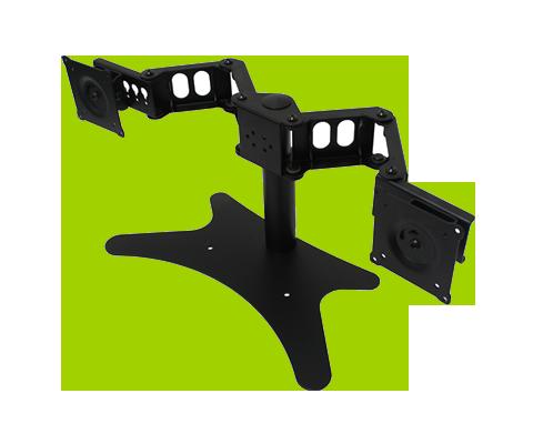 Support à moniteurs double DS-224STA de DoubleSight Displays