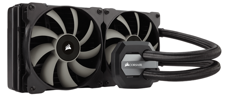 Refroidisseur liquide pour processeur hautes performances Hydro Series™ H115i 280 mm de Corsair