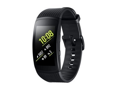 Montre Gear Fit2 Pro large noir SMR365NZKAXAC de Samsung