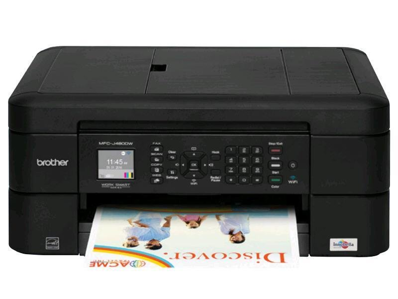 Imprimante multifonction à jet d'encre couleur MFC-J480DW de Brother