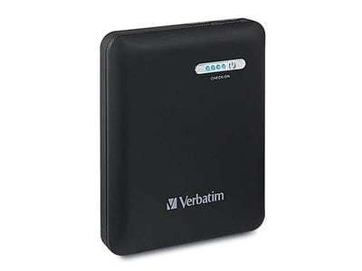 Chargeur portable à double prise USB de 12 000 mAh 98343 de Verbatim