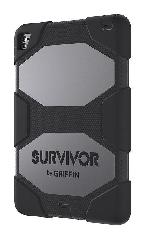 Étui Survivor All-Terrain GB41870 iPad Pro 9.7/Air 2 Noir de Griffin