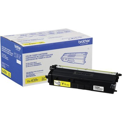 Cartouche de toner original jaune TN439Y 9000 pages de Brother